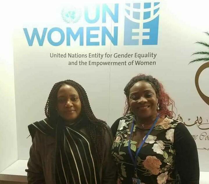 United Nations Award on Mrs Martha Udom Emmanuel